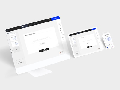 Teacher Saas App minimal web typography illustration branding creative ux ui app design