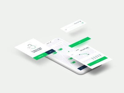 Bike App menu icon branding design app ux ui