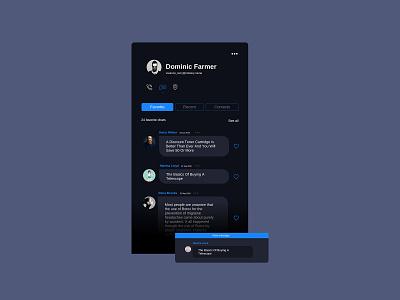 Chat app icon ux app menu daily design ui