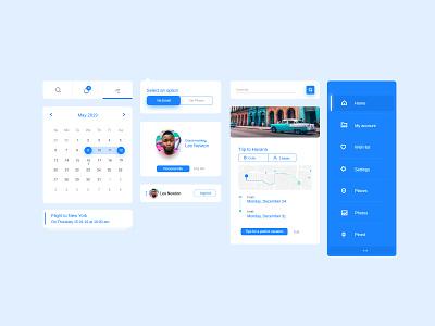 Travel App designinspiration branding brandidentity lettering type minimal flat vector website wire-frame web creative card icon menu app ux daily design ui
