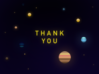 Thank you planets