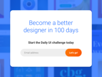 I've finished the Daily UI challenge!