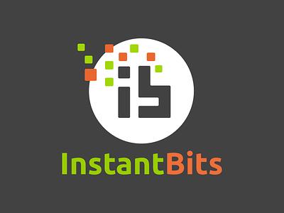 InstantBits Inc. Logo logo
