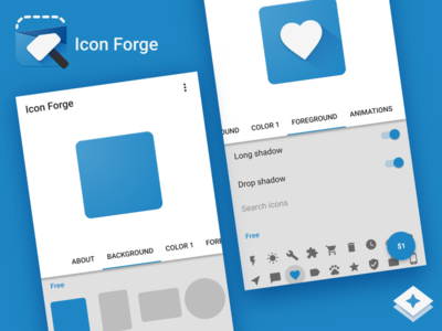 Icon Forge UI
