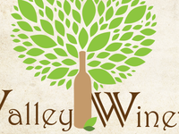 Valley Winery Label Mockup