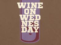 Wine On Wednesday Flyer