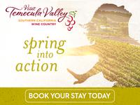 Visit Temecula Valley Springfest Campagin