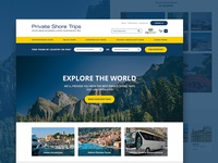 Private Tours Website Re-design