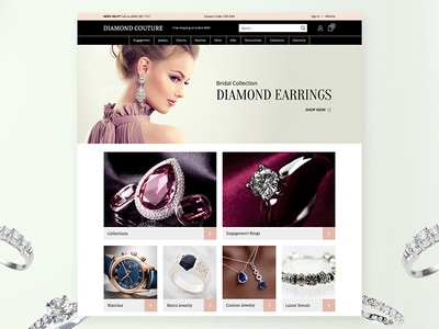 diamond jewelry diamond jewelry store by magaly cardona dribbble
