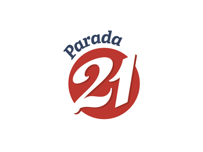 Parada 21 design number 2 number 1 beer point lettering typography clean parada 21 21 numbers number brush calligraphy brush calligraphy logo branding
