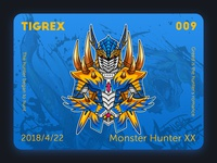 Monster hunter XX Tigrex