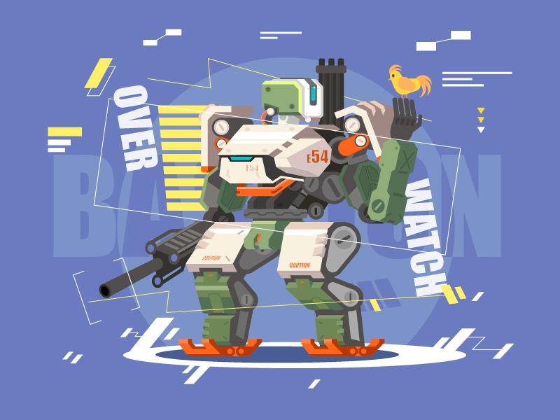 Bastion Overwatch illustration