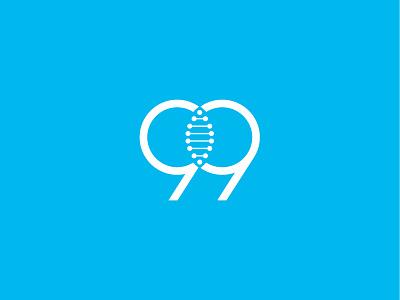 99GENE 9 gene brand design branding graphic logo