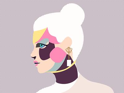 jade sui    illustration fashion poster