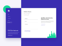 Hipool Contact Page