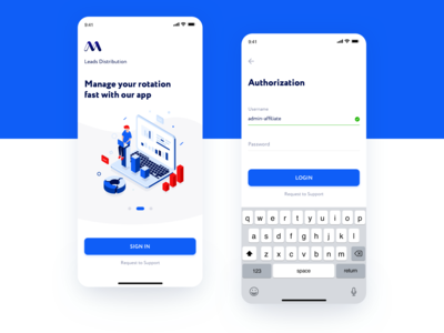 Onboarding & Sign In — Affiliate Mobile App