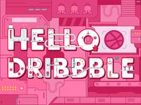Hello dribbble2 01