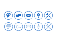 Custom Trendwerk icon set