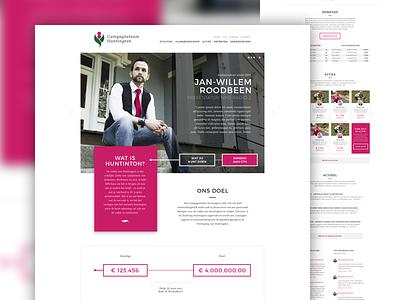 Campagneteam Huntington artica corporate mvo webdesign