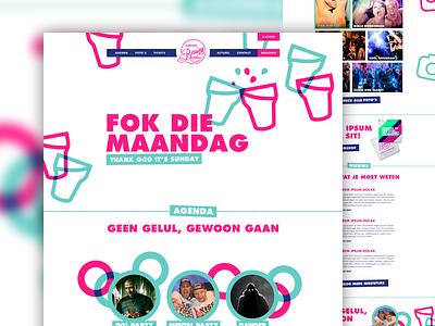 Bruins webdesign party artica