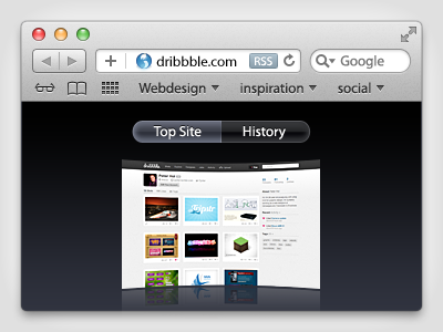 Safari UI apple os x ui safari browser psd download