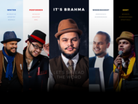 It's Brahma freelance ui webdesign