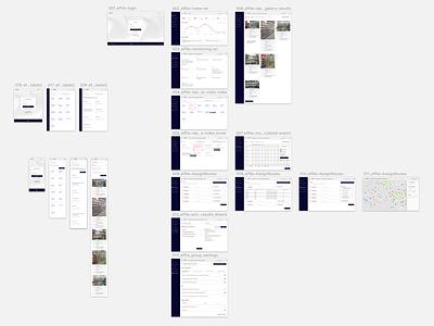 effie> App Screens effie mobile tablet ui design