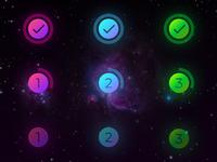 Circular progress bar indicators