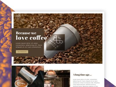 Angelo Coffee - Homepage