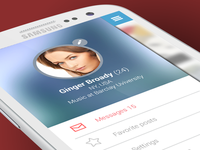 Runner ux ui iphone android mobile social icon psd students