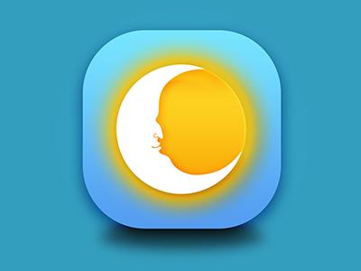 App Icon sun moon icon app