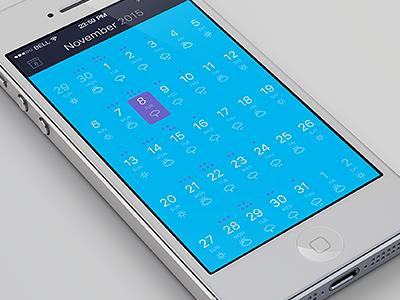 Calendar & Task App  weather alert event iphone app tasks task calendar