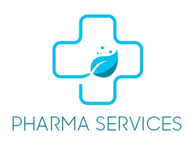 Pharma Services Logo psd doctor medical pharma logo