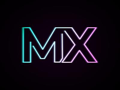 Logitech MX Rebound black branding typography lettering logitech