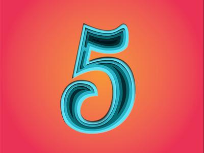 5 36daysoftype typography logo branding handlettering lettering