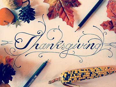 Thanksgiving photography branding lettering fall autumn thanksgiving