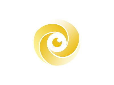 Visionary Film Group lens film camera aperture logo eye visionary