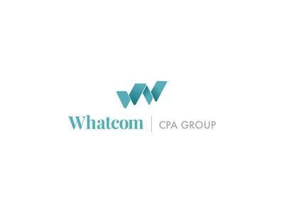 Whatcom Cpa Group Logo w logo whatcom cpa w