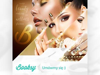 Booksy - FB booksy fb shot facebook graphic design
