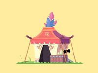 The indians hut