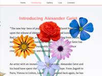 Click'n'Drag flower arranging with Alexander Geist