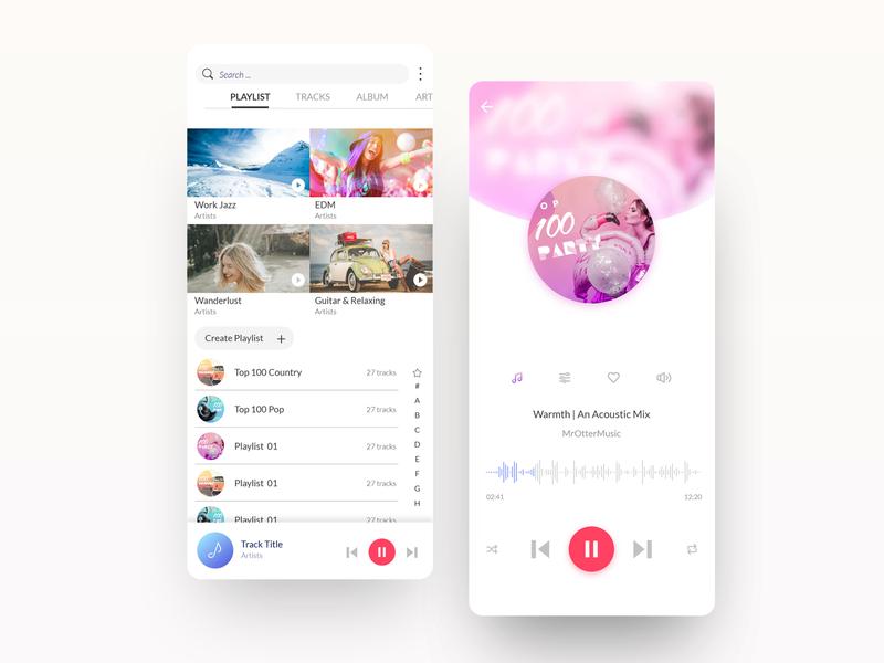 Samsung music App - Google Play Korea google play music app app uidesign design ui