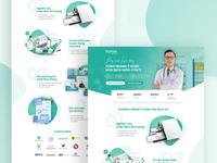 Medical Landing Page - Express Agency