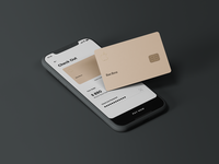 Credit Card Design typo artwork apple material ui interface sketch simple dailyui ux app design