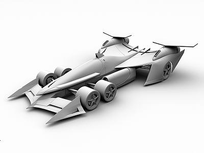 ASURADA AKF-0 maya 3d modeling asurada cyber formula