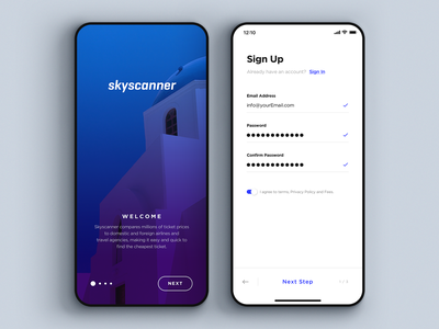 Daily UI 001 - Sign Up material simple interface apple sketch design app login signin register ux ui mobile ui signup dailyui