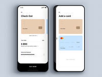 """Daily UI Challenge #002 Prompt: """"Credit Card Checkout"""""""