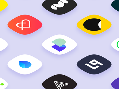 Daily UI 005 - App Icon typography gradient squircle flat web icon branding vector logo illustration apple ui sketch simple material dailyui app ux design