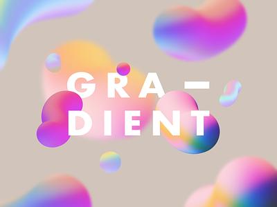 Fluid Gradient circle colorful color fluid gradient design