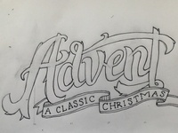Advent sketch